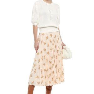 💕💕Joie Adeena pleated midi skirt size 6 US💕💕